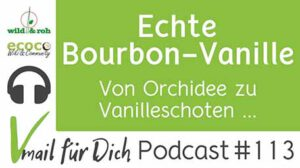 Echte Bourbon-Vanille